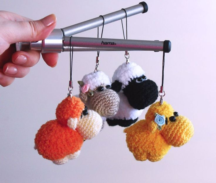 Amigurumi Sheep Keychain : 17 Best images about free pattern crochet on Pinterest ...