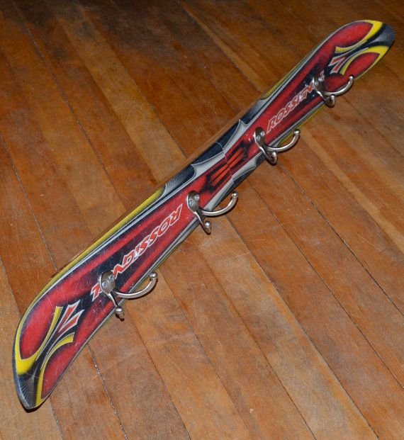 Porte-manteau ski par maineskichairs sur Etsy