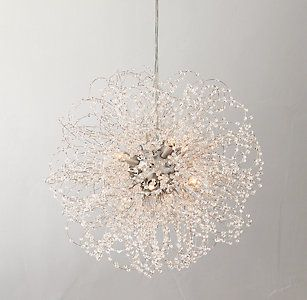 Get Inspired By This Lovely Dandelion Chandelier The Perfect For A Especially If You Re Going More Look Via Chandeliers Pendants