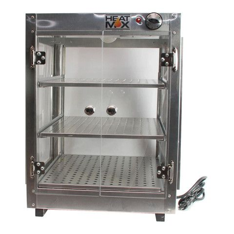 Food Warmer.  Commercial Countertop Food Warmer Display Case With Water Tray 18 x 18 x 24.  Food Warmer for your party or store need.