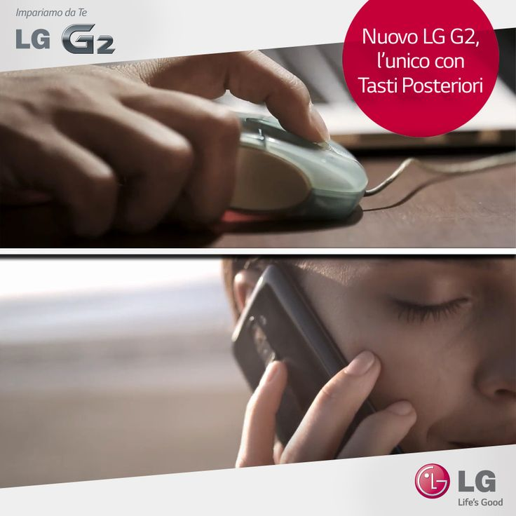 Puoi regolare il volume usando il tuo indice: è semplice, come lo scroll di un #mouse! #LGG2 #smartphone