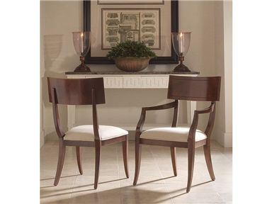 Oscar De La Renta Upholstered Aria Side Chairs From Century Furniture