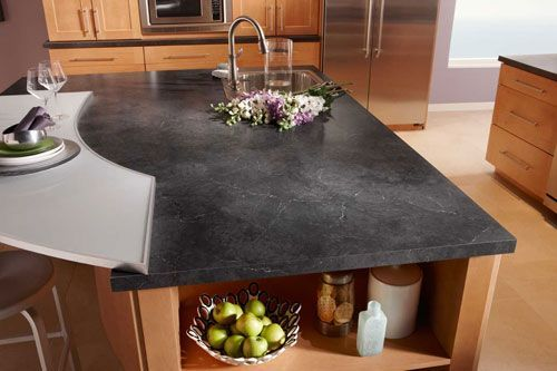 pictures of black alicante laminate countertops - Google Search