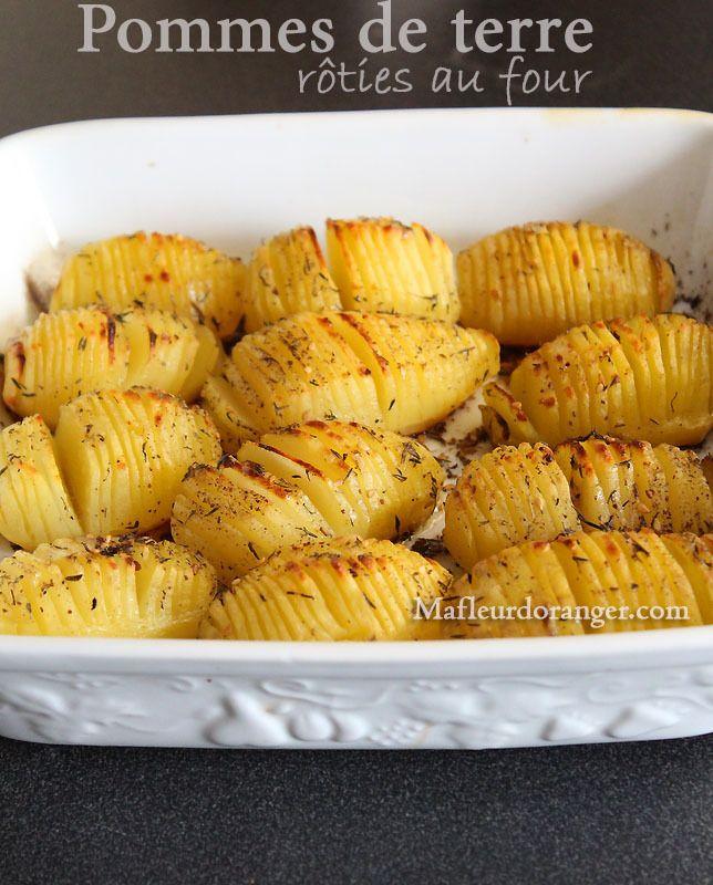 Pommes de terre rôties au four - Blog cuisine marocaine / orientale Ma Fleur d'Oranger / Cuisine du monde /Recettes simples et cratives