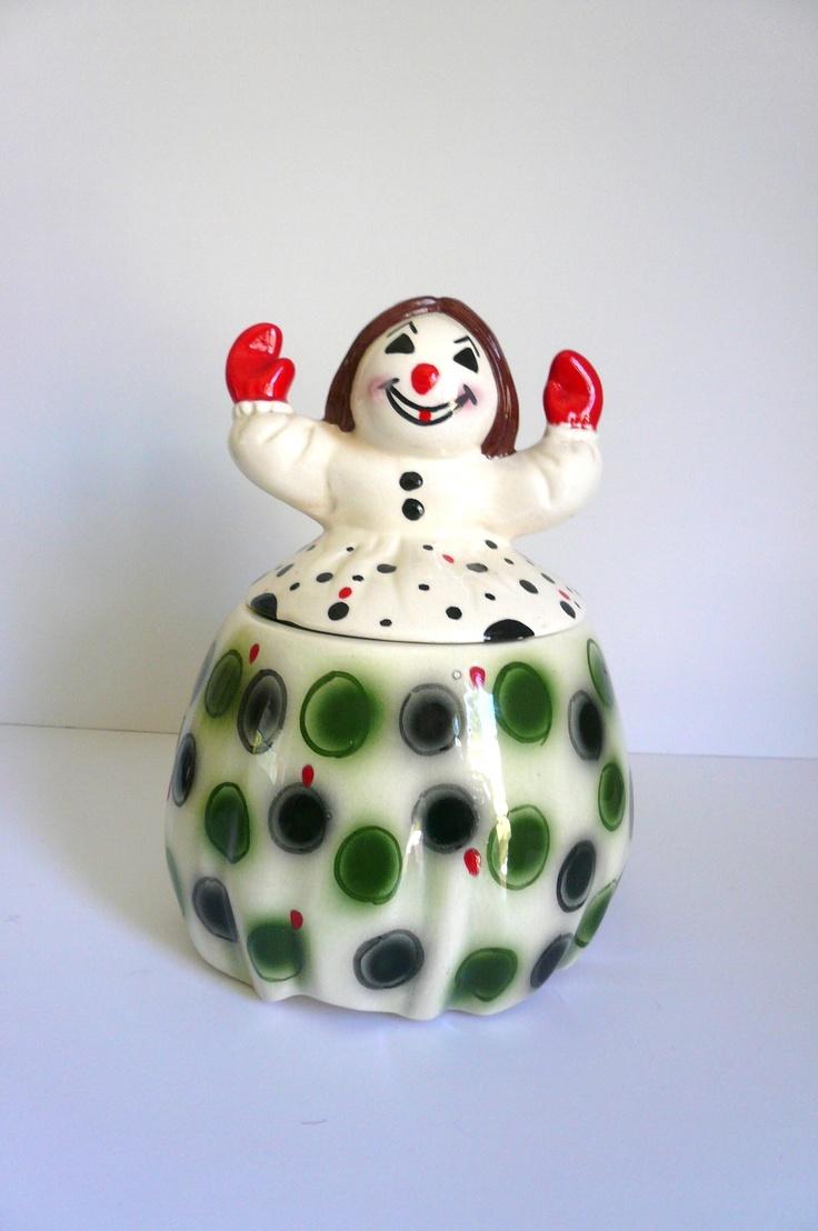 115 Best Cookie Jars Clowns Images On Pinterest