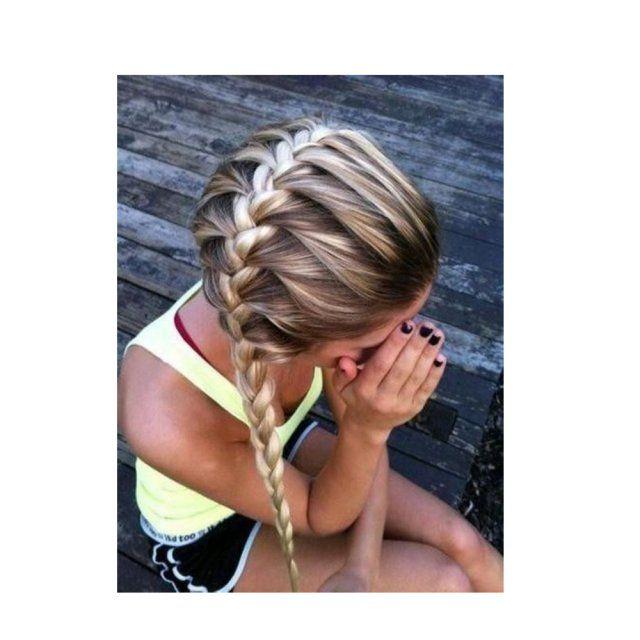13 id es de coiffures pour faire du sport coiffures et artifices n o europ ennes pinterest - Coiffure pour faire du sport ...