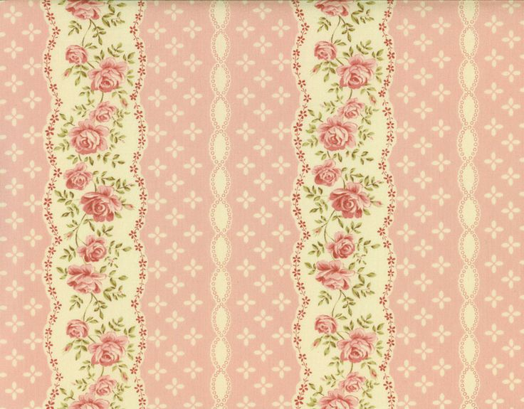 Pink floral pattern <3