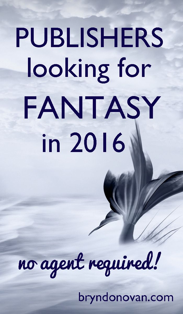 Writing a fantasy book series