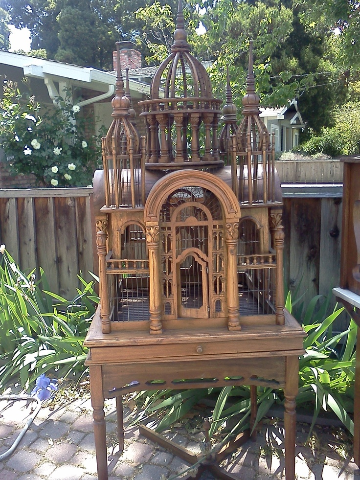 Antique Birdcage - I'm selling it for $400 or B/O - on Craigs List SF Bay Area