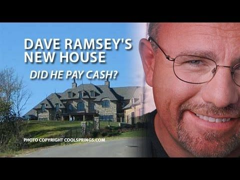 Dave Ramsey's New House: Dave Comments About His New House, His Debt Philosophy And Giving
