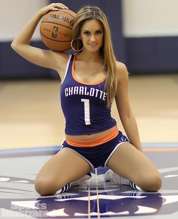 Charlotte Bobcats cheerleader | NBA Cheerleaders ...