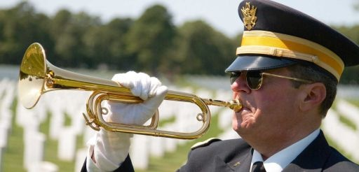 Budget cuts mean no live 'Taps' at military funerals.  US Taps is working to make it possible for every vet to have live taps and more.