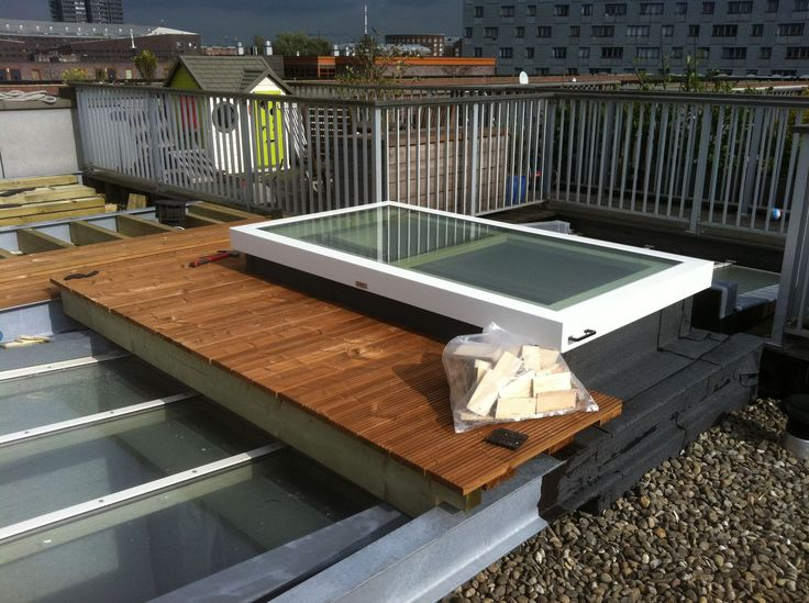 Roof hatch / rectangular / electric / metal Staka Bouwproducten B.V.