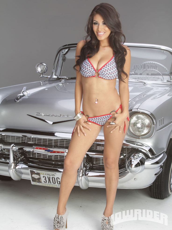 Hot girls and lowriders — 9
