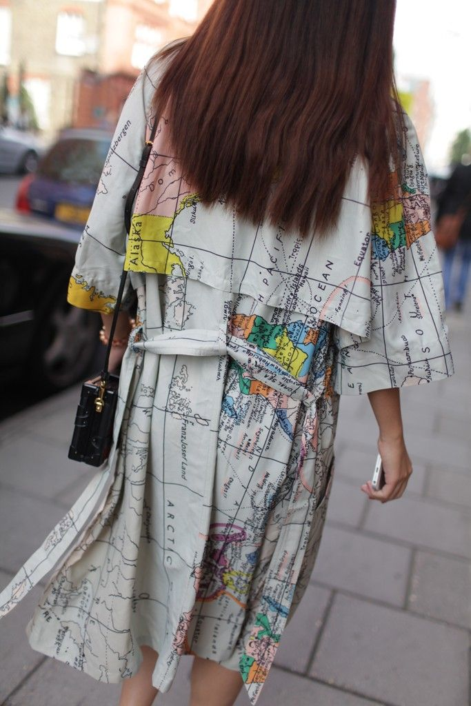 London Fashion Week mapped out street style.