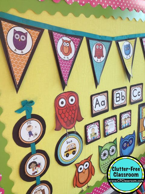 1000 Images About Owls Classroom Theme On Pinterest