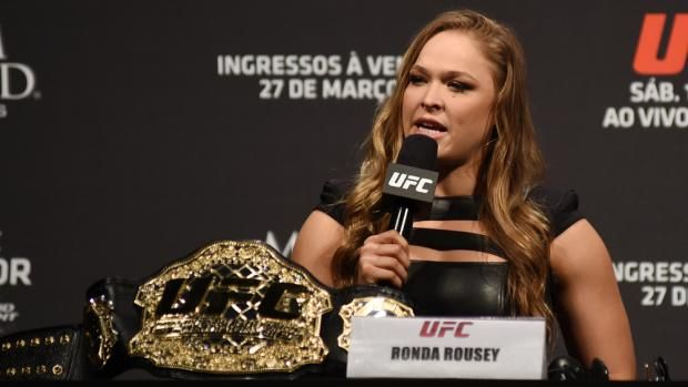 Ronda Rousey And Joanna Jedrzejczyk Defend Their Championship Titles At UFC 193 - http://www.laddiez.com/health-beauty-tips/ronda-rousey-and-joanna-jedrzejczyk-defend-their-championship-titles-at-ufc-193.html - #Championship, #Defend, #Jedrzejczyk, #Joanna, #Ronda, #Rousey, #Their, #Titles