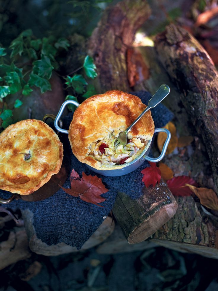 This classic chicken pie with chorizo and cider recipe makes a perfect winter warmer on Bonfire Night.