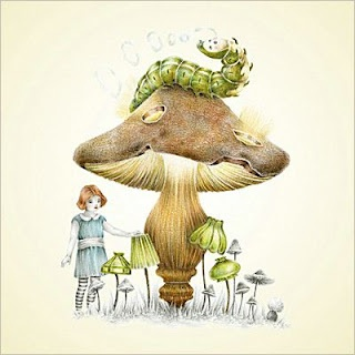 .: Courtney Brimmed, Artists Courtney, Illustrations Alice, Alice In Wonderland, Artsy Fartsi, Photography Art, Alice Sleeve, Hookahs Smoke, Fairies Tales Illustrations
