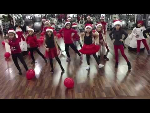 Jingle Bell Rock - Hilary Duff - Zumbakids Lebanon - YouTube