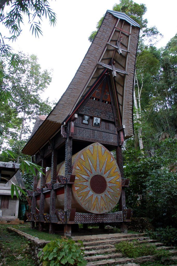 Sulawesi: kuburan Ke'te Kesu  indonesia