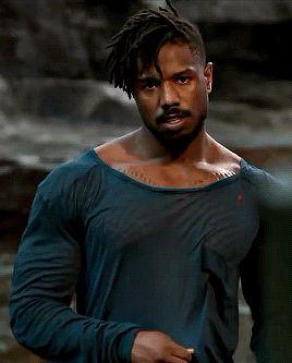 onehellofascene:  Michael B. JordanBlack Panther dir. Ryan...