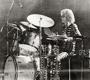 Woody Woodmansey - of david bowie and the spiders from mars