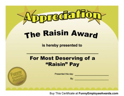 Funny teacher awards and certificates for end-of-the-year school awards ceremonies. This list of funny certificates is humorous, fun, and provides great ideas for teacher recognition awards.