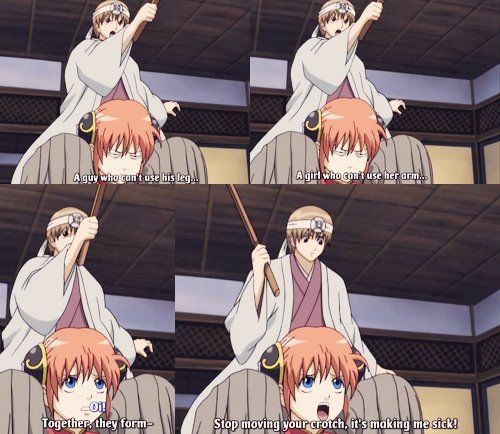 Lol Kagura, That's Not How A Girl Supposed To Talk... On