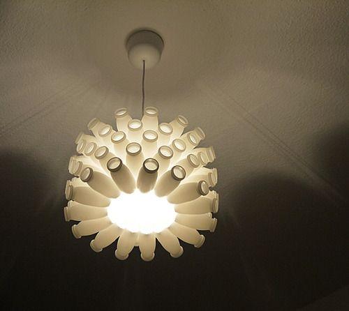 A boire tous les matins pour une jolie lampe ! #upcycling @Wiithaa