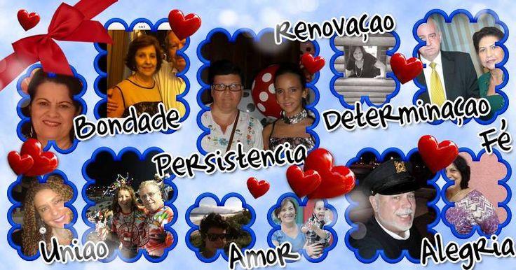 Mosaico com Palavras Boas para 10 Amigos. Crie o Seu!