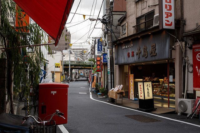 Joyful Minowa Shotengai in Minowabashi, Session 2... - 街路