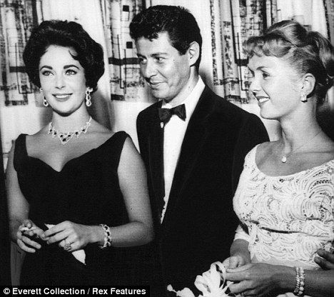 eddie fisher debbie reynolds elizabeth taylor | Eddie Fisher, centre, split from Debbie Reynolds, right, for Elizabeth Taylor in 1959 and Debby was pregnant with his 2nd child.