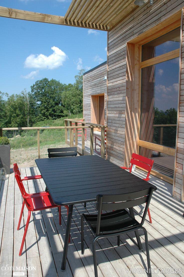 une maison en bois cologique virginie farges c t maison maisons pinterest projets. Black Bedroom Furniture Sets. Home Design Ideas