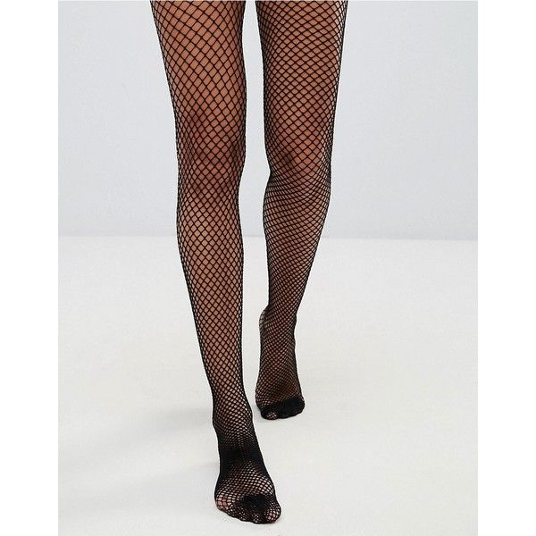 ASOS Fishnet Tights ($7.65) ❤ liked on Polyvore featuring intimates, hosiery, tights, black, fishnet stockings, glossy tights, transparent tights, fishnet pantyhose and wet look tights