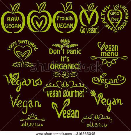 stock-vector-hand-written-set-of-vegan-logos-vegan-text-labels-for-menus-food-labels-and-food-packaging-316565045.jpg (450×470)