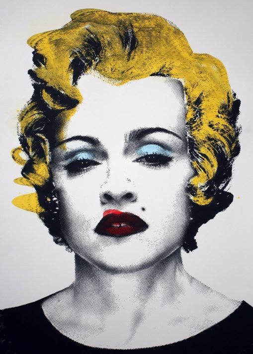 Debbie Harry Madonna by Andy Warhol | Thank in 2019 | Andy warhol pop ...