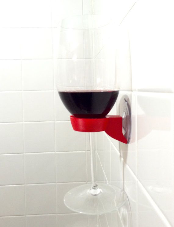 Shower Bathtub Wine Glass Holder Bathroom 3D от MG3DDESIGNS