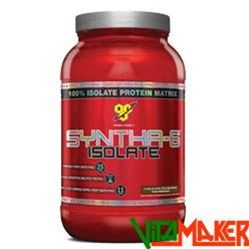SYNTHA-6 ISOLATE by BSN - 912g Fragola. 100% Miscela proteica a base di sieroproteine isolate, proteine isolate del latte.