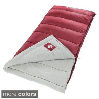 Coleman Brazos Cold-weather Sleeping Bag with QuickCord Storage System…