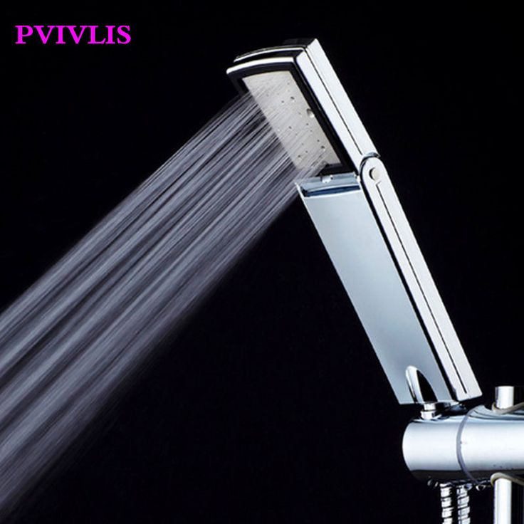PVIVLIS Shower Sprayer High Pressure Shower Head Water Saving Shower Head Bathroom Handheld Rainfall Shower Heads Chuveiro Ducha #Affiliate