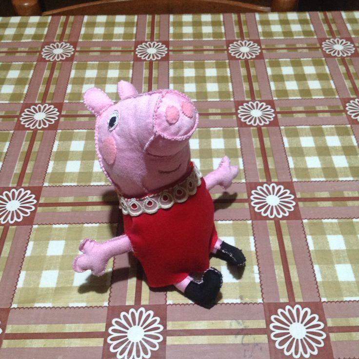 Peppa pig artigianale