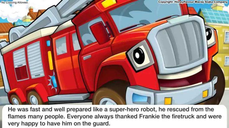 Fairy tale for childrem - Fire truck - tale for reading EN