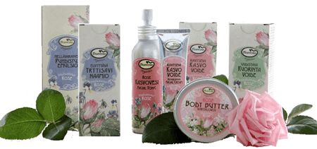 Organic Cosmetics - Natural Brilliant Beauty - Frantsila. High quality skin care series from Finland's pure nature. Frantsila combines herbal medicine know-how and cosmetics. Finnish organically grown herbs and high-quality organic vegetable oils condition the skin, increase the skin's ability to regenerate and offer protection against environmental stress. With genuine Essential Oils and Finnish Wild Flower Essences...