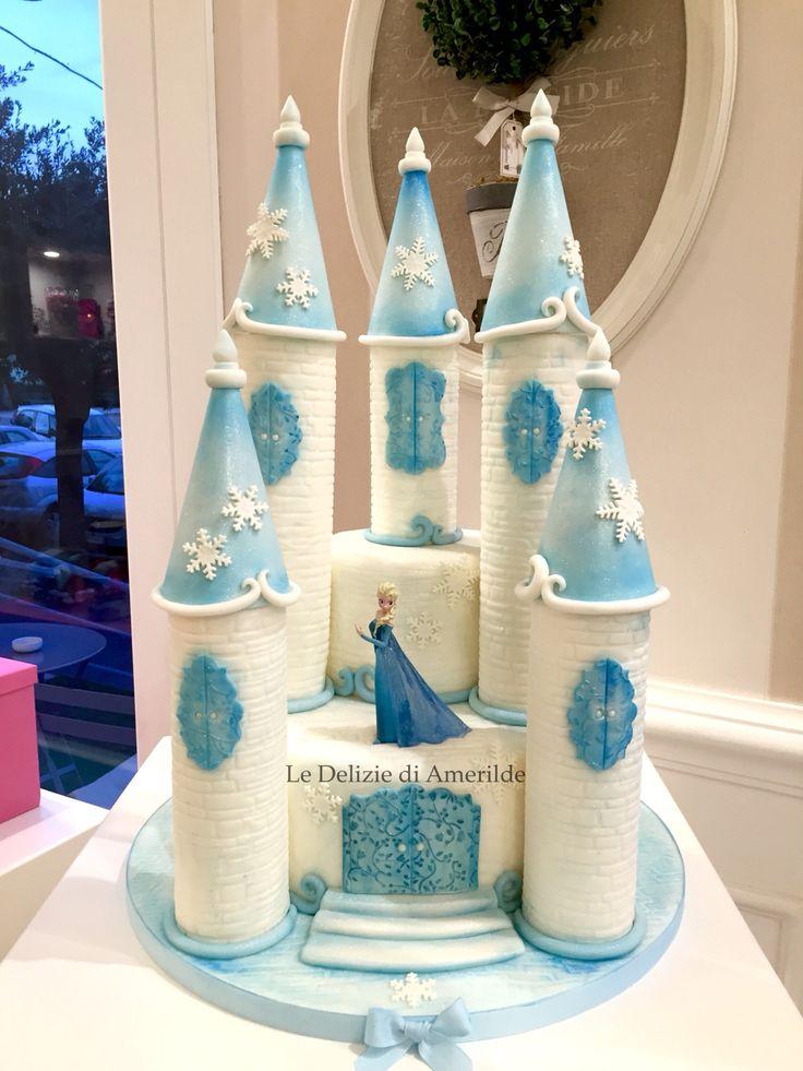 Frozen cake Castel