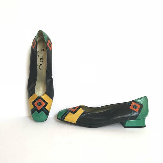 Size 8 1 2 Margaret Jarrold Office Heels 1980s Vintage Shoes Office Heels Vintage Shoes Shoes