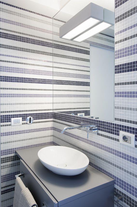 Private house in rome andrea castrignano interior designer pipedo open buzzispace mosaic - Andrea castrignano interior designer ...
