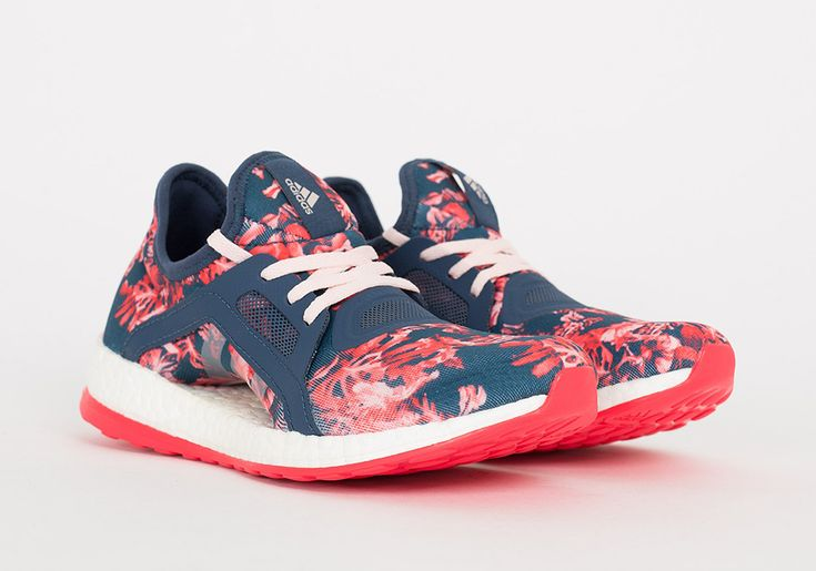 Adidas Pure Boost X Floral ///  #sneakers #wear #run #woman