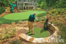 onelawn | Artificial Grass Golf and Putting Greens for Your Backyard