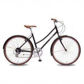 Bicicletta Donna Plume - Nero Opaco